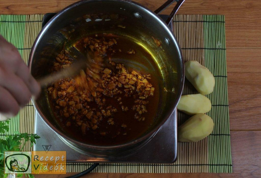 Krumplis tészta recept, krumplis tészta elkészítése 1. lépés