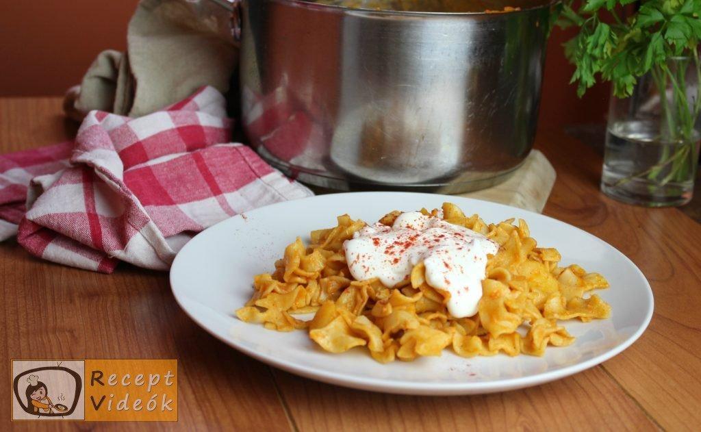 Krumplis tészta recept, krumplis tészta elkészítése - Recept Videók