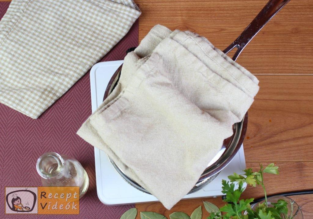 Krumplifőzelék recept, krumplifőzelék elkészítése 3. lépés