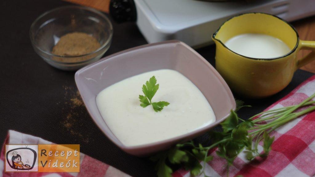 Besamel mártás recept, besamel mártás elkészítése - Recept Videók