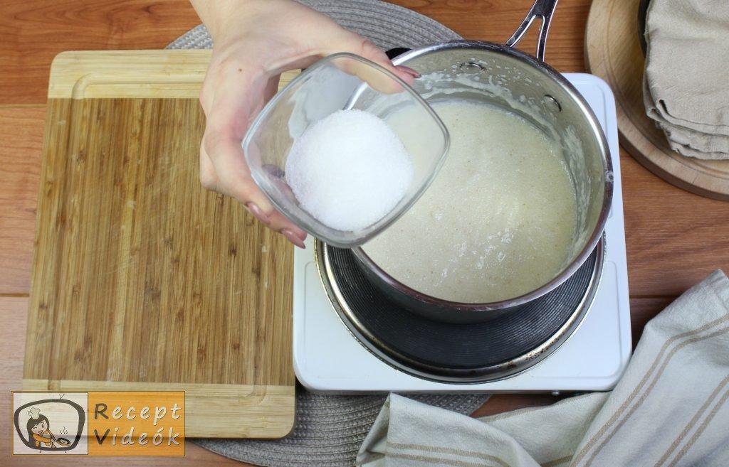 Tejbegríz (tejbedara) recept, tejbegríz (tejbedara) elkészítése 3. lépés