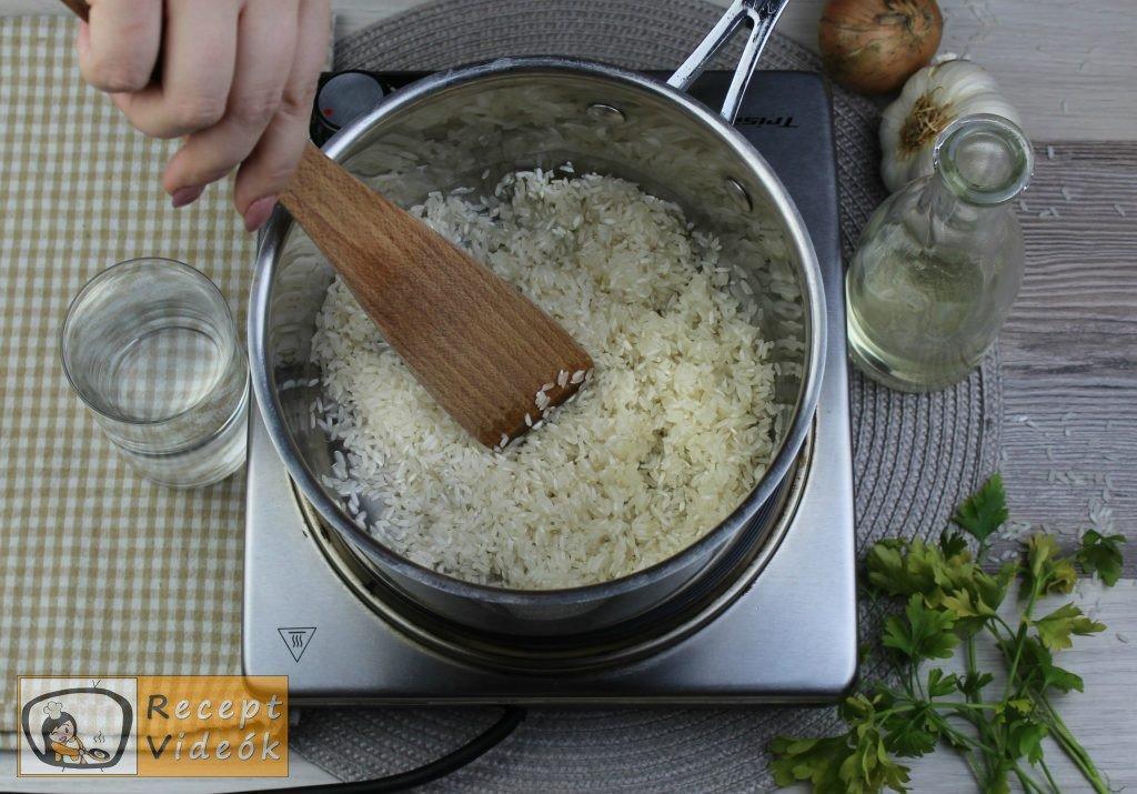 Rizs recept, rizs elkészítése 1. lépés