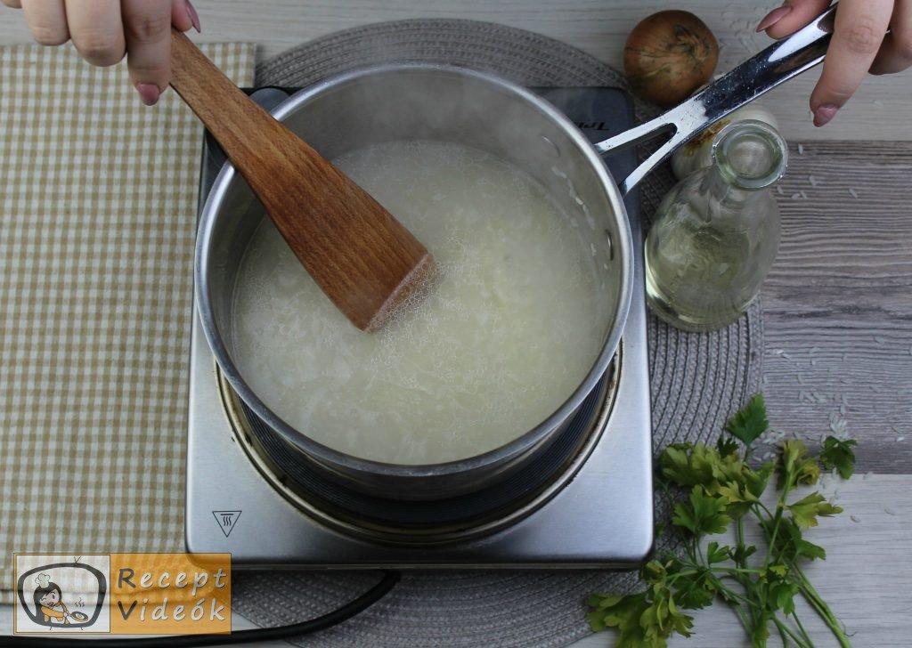 Rizs recept, rizs elkészítése 2. lépés