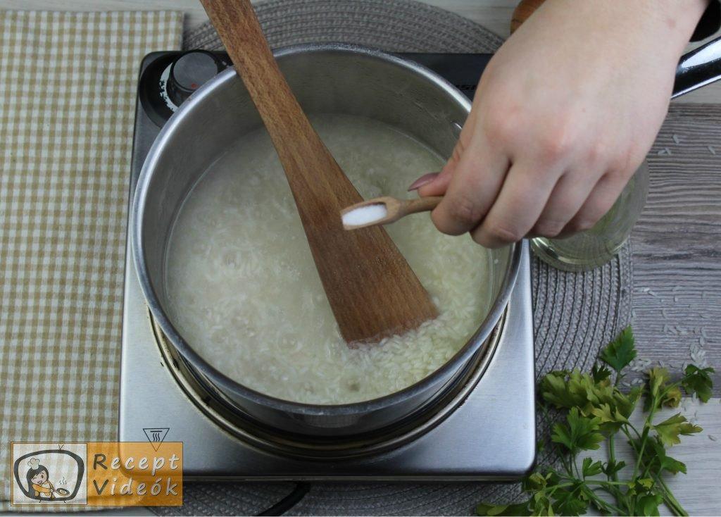 Rizs recept, rizs elkészítése 3. lépés