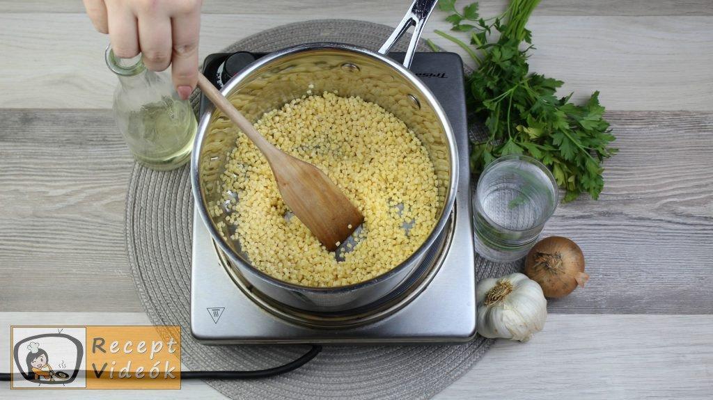 tarhonya recept, tarhonya elkészítése 1. lépés