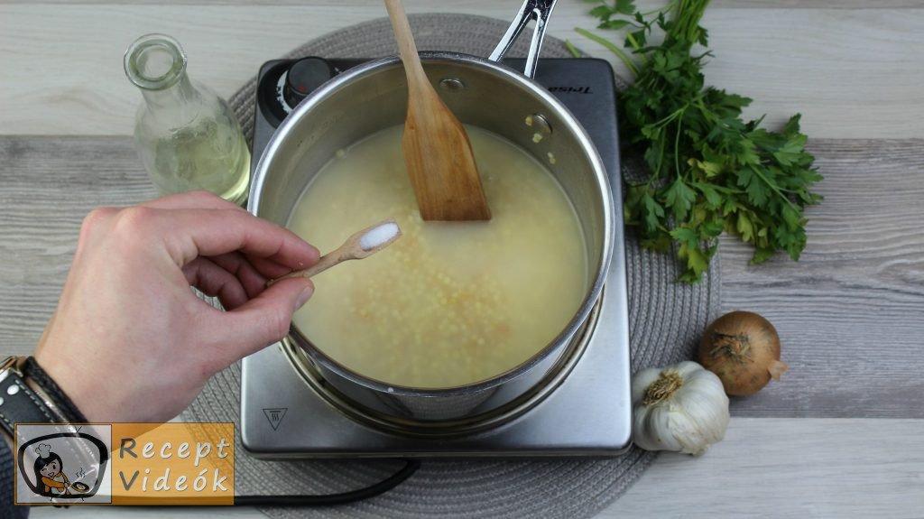 tarhonya recept, tarhonya elkészítése 3. lépés