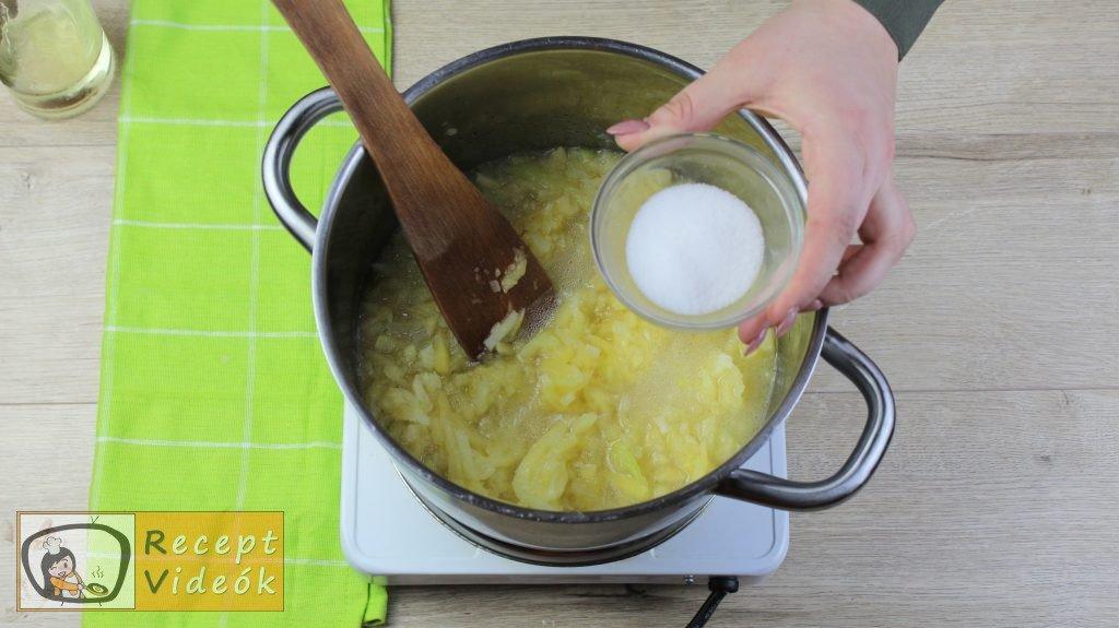 Tökfőzelék recept, tökfőzelék elkészítése 3. lépés