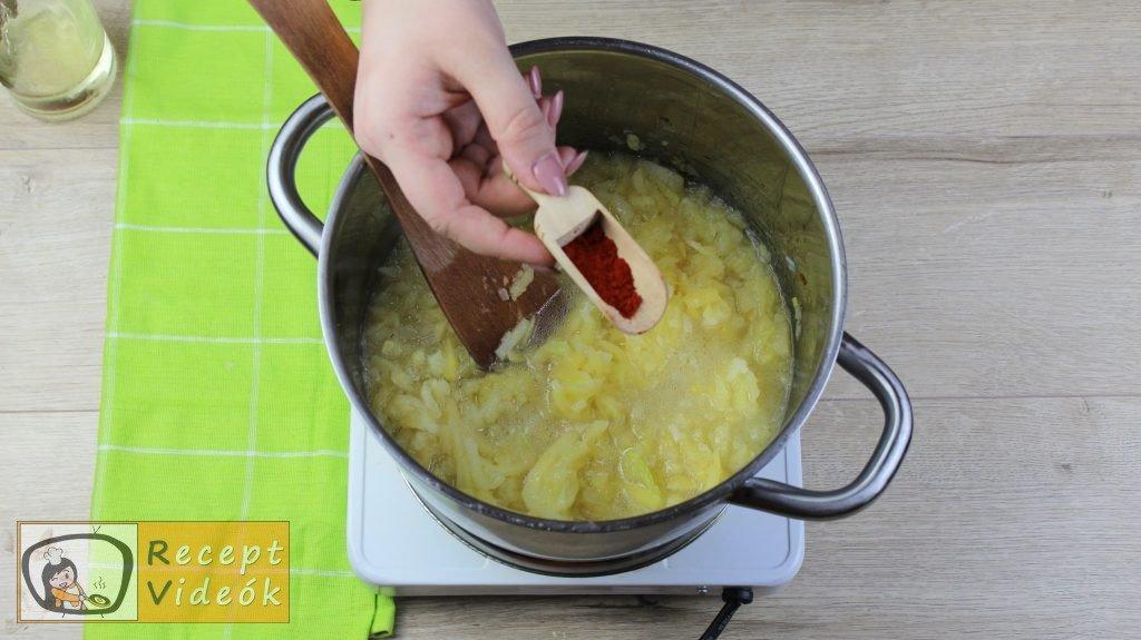 Tökfőzelék recept, tökfőzelék elkészítése 4. lépés