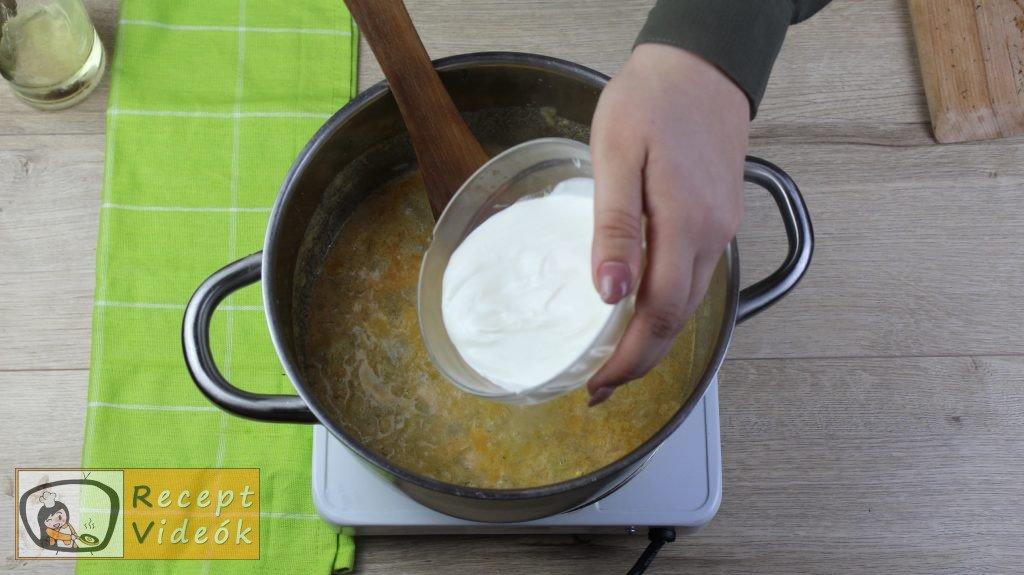 Tökfőzelék recept, tökfőzelék elkészítése 5. lépés