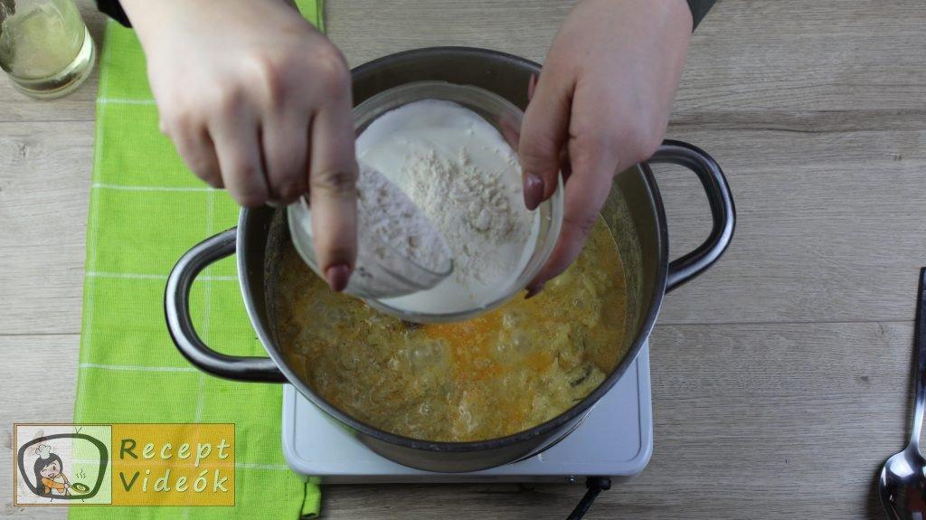 Tökfőzelék recept, tökfőzelék elkészítése 6. lépés