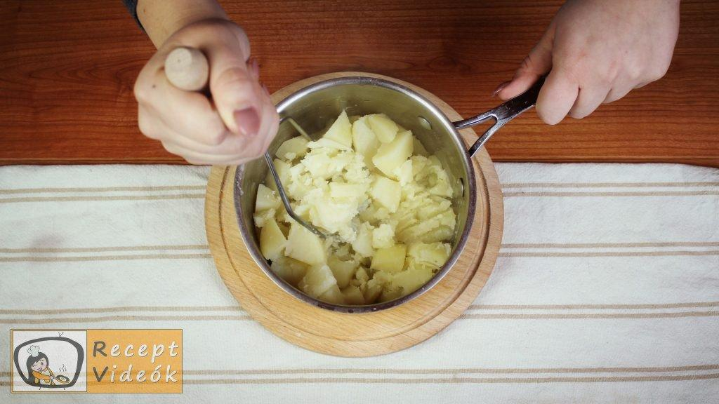 Burgonyapüré recept, burgonyapüré elkészítése 1. lépés