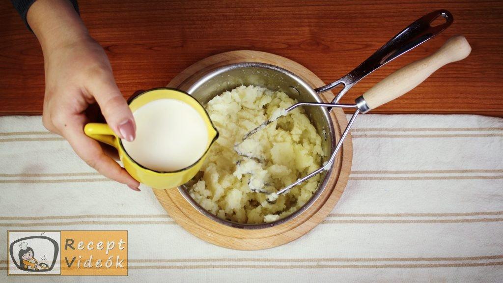 Burgonyapüré recept, burgonyapüré elkészítése 2. lépés
