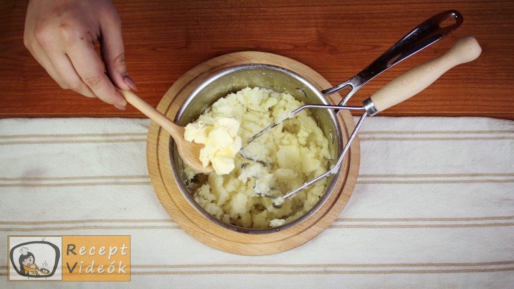 Burgonyapüré recept, burgonyapüré elkészítése 3. lépés