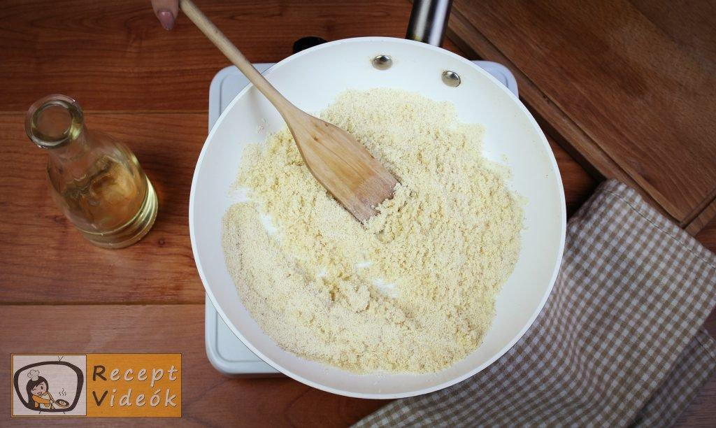 Grízes tészta recept, grízes tészta elkészítése 2. lépés