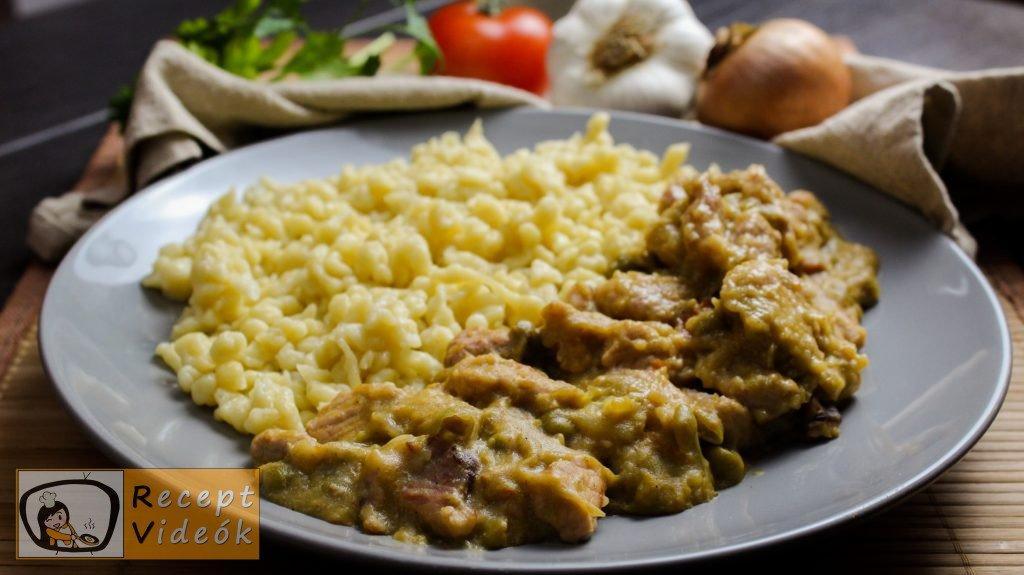 Zöldborsós tokány recept, zöldborsós tokány elkészítése - Recept Videók