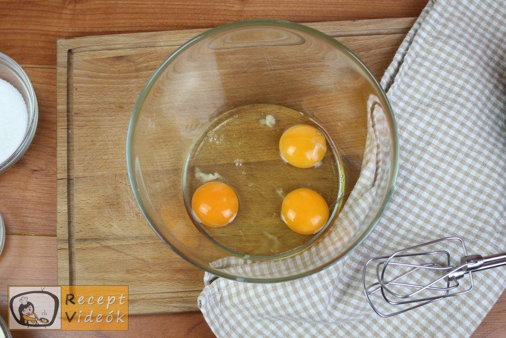 Tejes pite recept, tejes pite elkészítése 1. lépés
