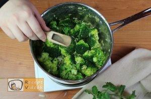 Brokkoli krémleves recept, brokkoli krémleves elkészítése 5. lépés