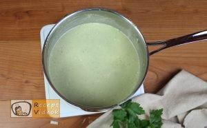 Brokkoli krémleves recept, brokkoli krémleves elkészítése 9. lépés