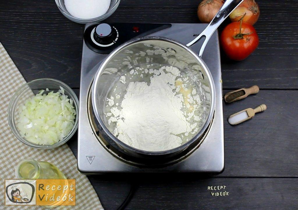Paradicsomleves recept, paradicsomleves elkészítése 1. lépés