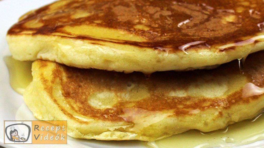 Amerikai palacsinta recept elkészítése - Recept Videók
