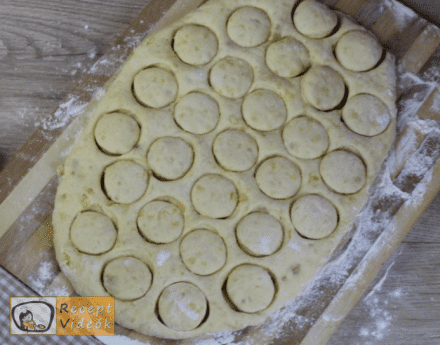 Burgonyafánk recept, burgonyafánk elkészítése 6. lépés