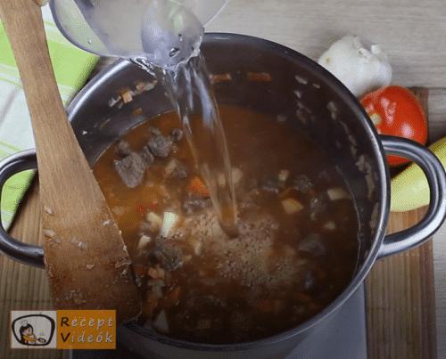 Babgulyás recept, babgulyás elkészítése 12. lépés