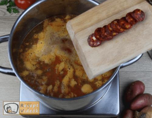 Burgonyaleves recept, burgonyaleves elkészítése 6. lépés