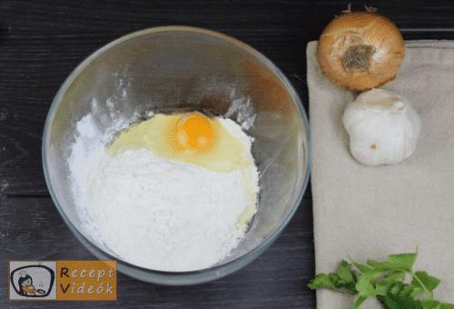 Tejfölös karfiolleves recept, tejfölös karfiolleves elkészítése 12. lépés