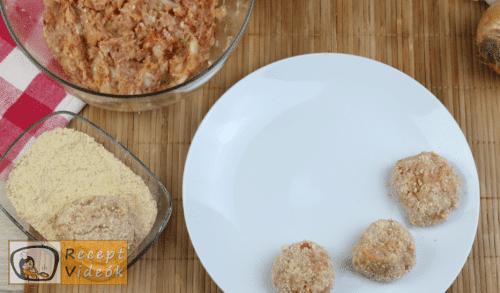 Fasírt recept, fasírt elkészítése 3. lépés