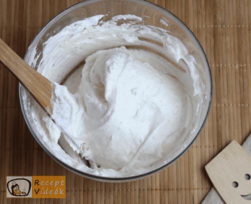 Madártej torta recept, madártej torta elkészítése 2. lépés