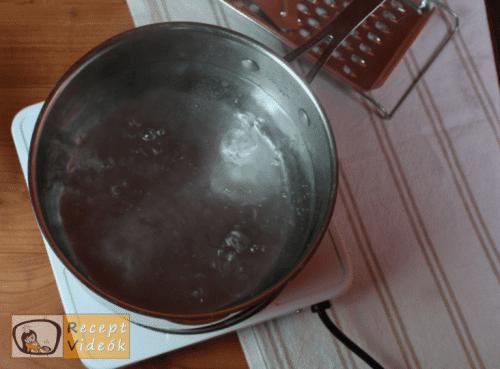 Nokedli recept, nokedli elkészítése 3. lépés