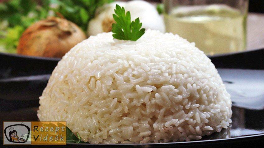 Rizs recept, rizs elkészítése - Recept Videók