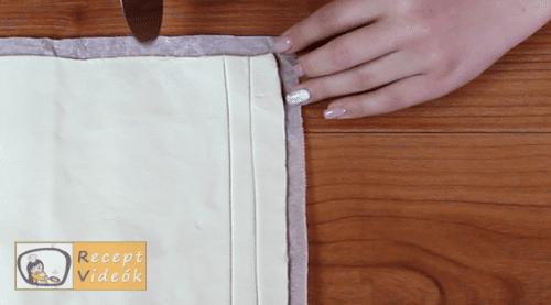 Sajtos roló recept, sajtos roló elkészítése 1. lépés