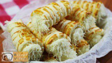 Sajtos roló recept, sajtos roló elkészítése - Recept Videók