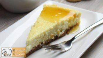 Sajttorta recept, sajttorta elkészítése - Recept Videók
