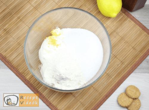 Sajttorta recept, sajttorta elkészítése 3. lépés