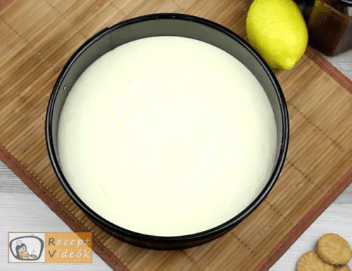 Sajttorta recept, sajttorta elkészítése 5. lépés