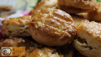 Tepertős pogácsa recept, tepertős pogácsa elkészítése - Recept Videók