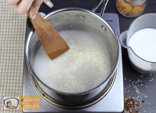 Tejberizs recept, tejberizs elkészítése 1. lépés