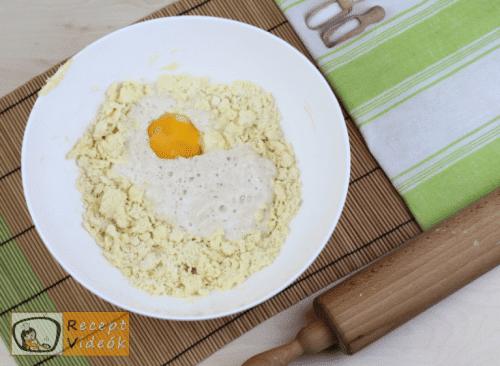 Vajas pogácsa recept, vajas pogácsa elkészítése 2. lépés