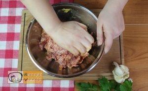 Paradicsomos húsgombóc recept, paradicsomos húsgombóc elkészítése 2. lépés