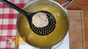 Paradicsomos húsgombóc recept, paradicsomos húsgombóc elkészítése 4. lépés