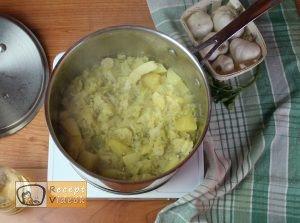 Kelkáposzta főzelék recept, kelkáposzta főzelék elkészítése 4. lépés