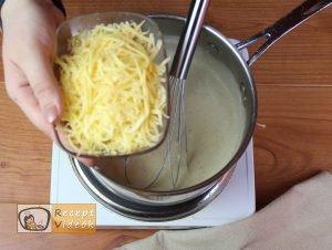 Fokhagymás gnocchi sajtmártással recept, fokhagymás gnocchi sajtmártással elkészítése 9. lépés