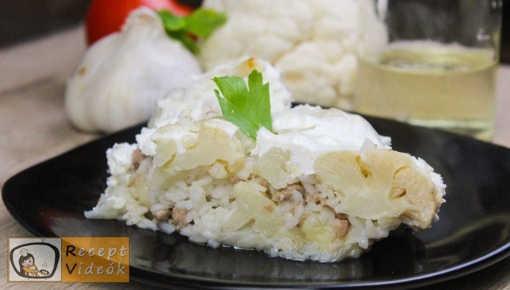 Rakott karfiol recept, rakott karfiol elkészítése - Recept Videók