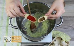 Frankfurti leves recept elkészítése 2. lépés
