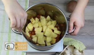 Frankfurti leves recept elkészítése 3. lépés