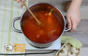 Frankfurti leves recept elkészítése 4. lépés