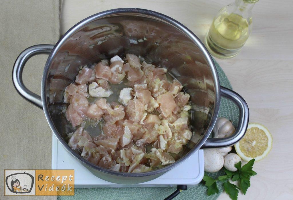 Tárkonyos raguleves recept, tárkonyos raguleves elkészítése 1. lépés