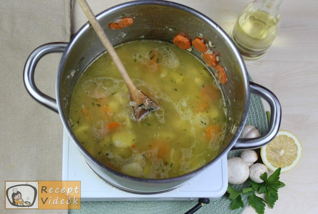 Tárkonyos raguleves recept, tárkonyos raguleves elkészítése 4. lépés
